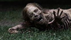 Un zombie sur le