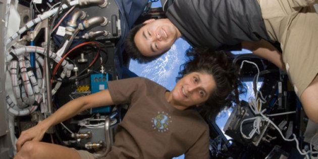 Les astronautes grandissent dans l'espace selon la