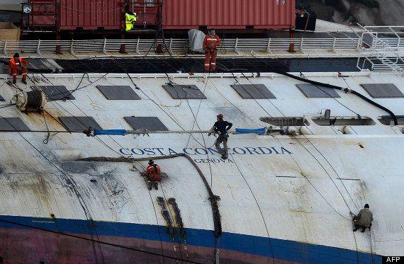 Costa Concordia: un an après le drame, rien n'a changé au