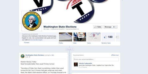 Les électeurs de l'État de Washington vont pouvoir s'inscrire sur les listes électorales via