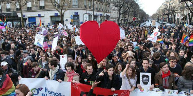Revivez la manifestation pro-mariage gay à Paris avec le meilleur (et le pire) du