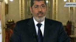 Face aux violences, Morsi s'exprime à la télévision