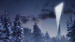 Et au milieu de la forêt, une tour de