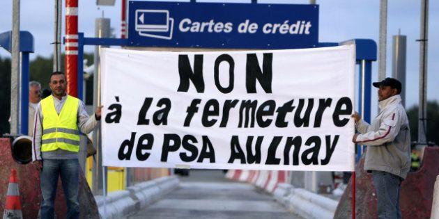 La grève continue à l'usine PSA d'Aulnay, malgré le renfort de 200