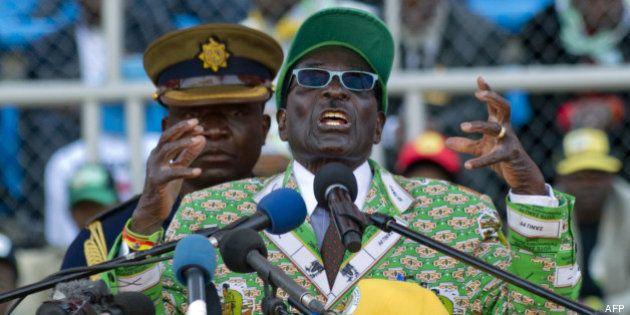Zimbabwe: Mugabe élu président avec 61% des