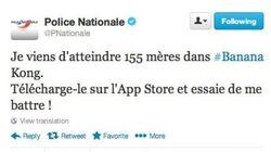 Le tweet de la Police Nationale qui fait