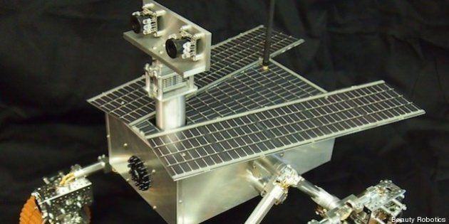VIDÉOS. Un robot martien construit par deux fillettes de 11 et 13