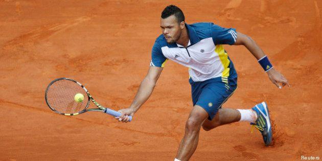 Roland-Garros: Jo-Wilfried Tsonga passe en quarts de finale, Gilles Simon éliminé de