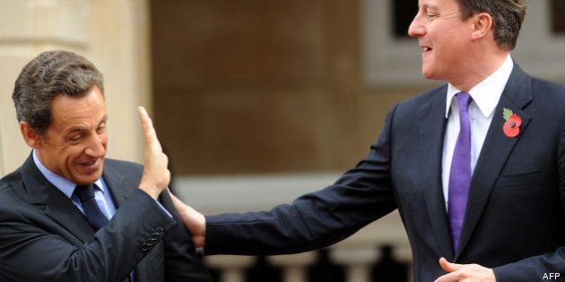 Nicolas Sarkozy rencontre David Cameron à