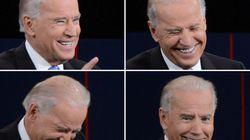 Les incroyables mimiques de Biden lors du