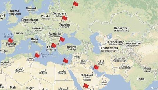 De Tahrir à Taksim, les grandes places