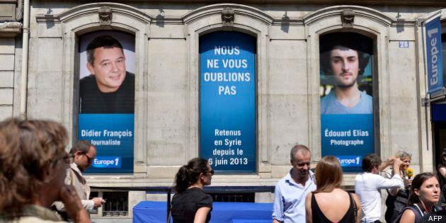 Syrie: les journalistes d'Europe 1 disparus depuis deux