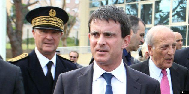 Manuel Valls en Corse : une visite sous haute