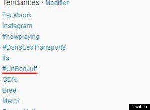 #UnBonJuif: quand Twitter France