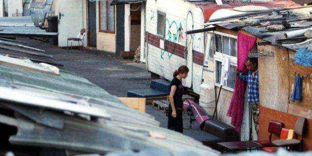 Roms: un camp évacué à