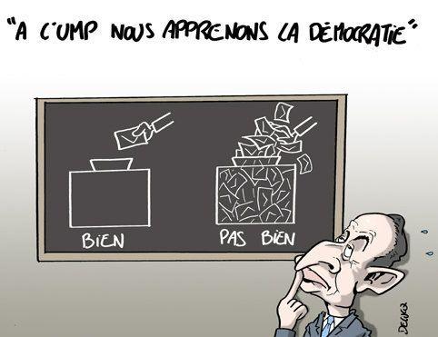 Leçon de démocratie: Repeat after