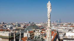 Alerte à la bombe au consulat des États-Unis à Milan, le bâtiment