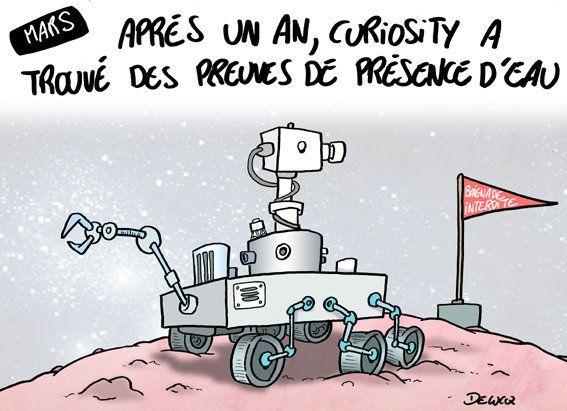 Curiosity: un an après, Mars a-t-elle livré ses secrets