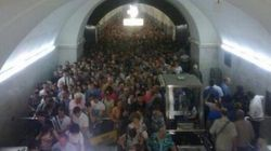 Incendie dans un métro à Moscou: les impressionnantes images de