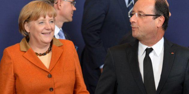Zone euro: Hollande et Merkel trouvent un compromis sur la supervision