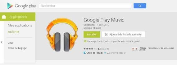 Streaming: Google Play Music All Access, le nouveau concurrent de Deezer et Spotify est disponible en