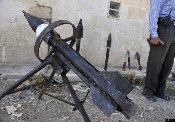 Syrie: PlayStation et batterie de voiture sont utilisés par les rebelles pour fabriquer leurs