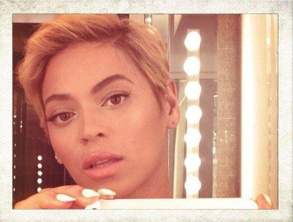 PHOTOS. Beyoncé les cheveux courts sur