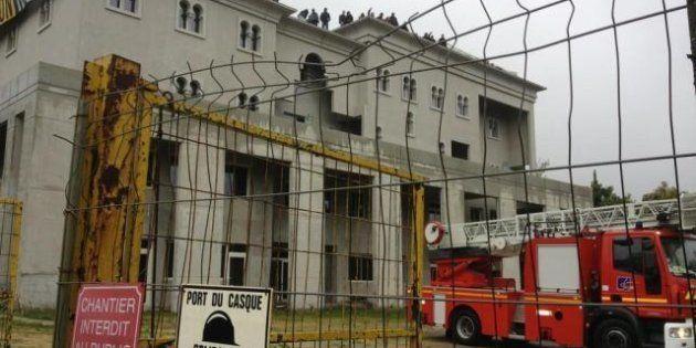 VIDÉOS. PHOTOS. Des militants d'extrême-droite envahissent le chantier de la future mosquée de