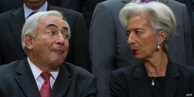 Christine Lagarde: le FMI a fait son mea culpa sur le plan de sauvetage de la Grèce... décidé par