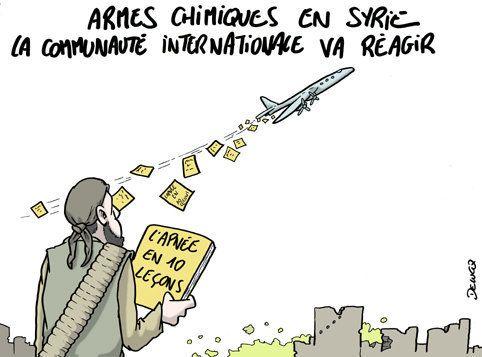 Armes chimiques en Syrie, la communauté internationale va