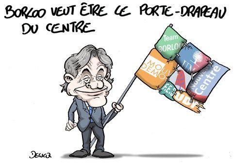 Borloo: porte-drapeau du