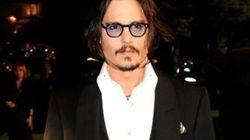 Johnny Depp chez Wes