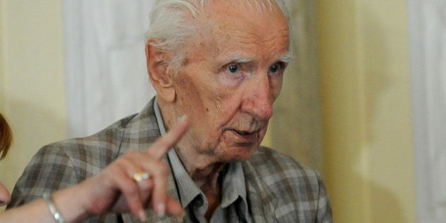 PHOTOS. Hongrie: le criminel de guerre nazi Laszlo Csatary
