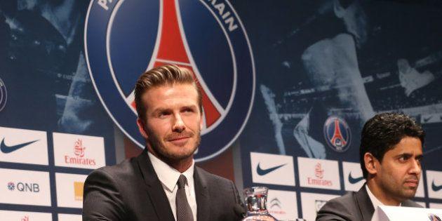 David Beckham au PSG : revivez la conférence de presse du club pour l'arrivée du joueur à