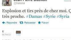 Syrie: un expat' français live tweet en direct les combats à