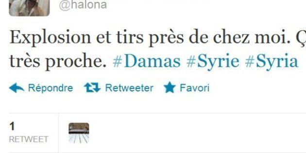 Syrie: un expatrié français live-tweet les combats à
