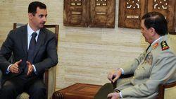 Premières images d'Assad qui n'a finalement pas quitté