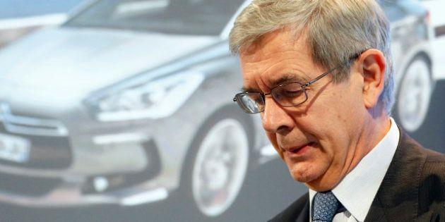 PSA-Peugeot: Philippe Varin rencontre Ayrault avant une semaine à haut