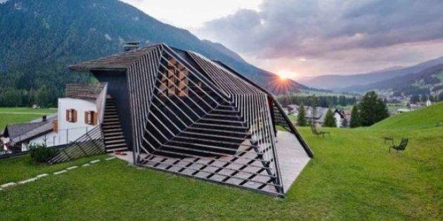 PHOTOS. Une maison de vacances dans les Dolomites: la Paramount Residence Alma, en