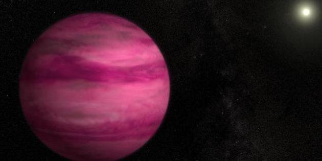 La Nasa découvre une nouvelle planète rose à 57 années-lumière de la