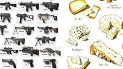 Pourquoi il est plus facile d'acheter des armes à feu que du fromage français aux