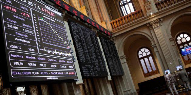 Bourse: L'Espagne à son plus bas historique, emporte l'Italie dans son
