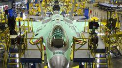 Visite de l'usine de production des F-35 à Fort Worth, au