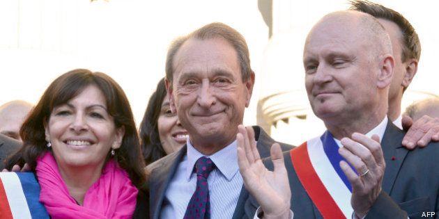 Mariage gay à Paris : Anne Hidalgo marie le maire du 4e arrondissement, Christophe Girard et son