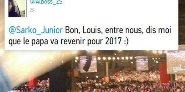 Louis Sarkozy sur Twitter : le plus jeune fils de Nicolas Sarkozy se lâche sur le réseau