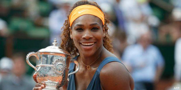 Roland-Garros: Serena Williams remporte le tournoi en battant Maria Sharapova (6-4,