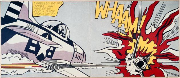 Roy Lichtenstein, Witz et