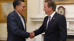 Romney en Grande-Bretagne: tournée de