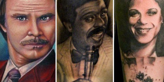 Insolite: 30 comédiens tatoués en
