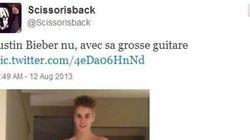 Nu avec sa guitare, Justin Bieber pose pour sa